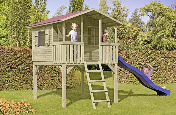 Holz Speckmann Kinderpielgeräte Spielturm Spielreck Spielanlage
